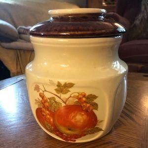 Vintage Canister Cookie Jar